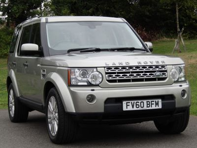 Land Rover Discovery 4 SUV 3.0 TD V6 HSE Auto 4WD 5dr