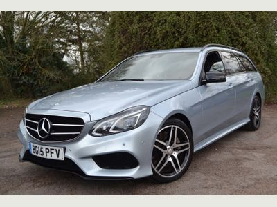 Mercedes-Benz E Class Estate 3.0 E350 CDI BlueTEC AMG Night Edition 9G-Tronic Plus 5dr