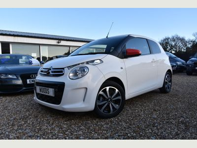 Citroen C1 Convertible 1.0 VTi Flair Airscape (s/s) 3dr (EU5)
