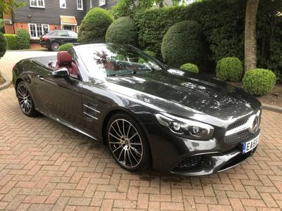 Mercedes-Benz SL Class Convertible 3.0 SL400 V6 AMG Line (Premium) G-Tronic+ (s/s) 2dr