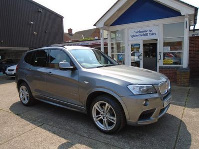 BMW X3 SUV 3.0 35d M Sport Sport Auto xDrive 5dr