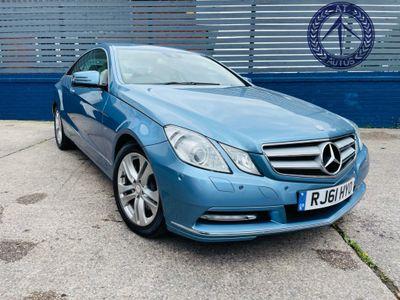 Mercedes-Benz E Class Coupe 3.0 E350 CDI BlueEFFICIENCY SE G-Tronic 2dr