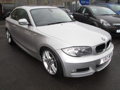 BMW 1 Series Coupe 3.0 125i M Sport Auto 2dr
