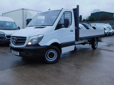 Mercedes-Benz Sprinter Dropside 2.1CDI 130PS LWB DROPSIDE 1 OWNER FSH