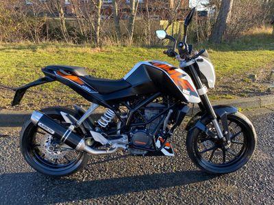 KTM 125 Duke Naked 125 Duke