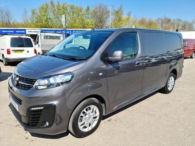 Vauxhall Vivaro Panel Van 1.5 Turbo D 2900 Sportive L2 H1 EU6 (s/s) 5dr