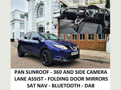 Nissan Qashqai SUV 1.2 DIG-T n-tec+ 5dr