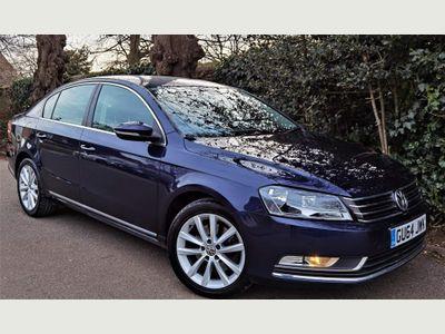 Volkswagen Passat Saloon 2.0 TDI BlueMotion Tech Executive DSG (s/s) 4dr