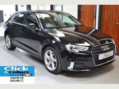 Audi A3 Hatchback 2.0 TDI Sport Sportback S Tronic Auto 6Spd (s/s) 5dr