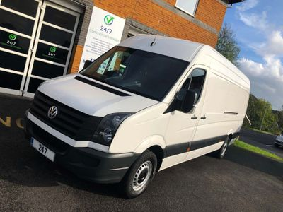 VOLKSWAGEN CRAFTER Panel Van 2.0 BiTDI CR35 LWB High Roof Van 4dr (LWB)