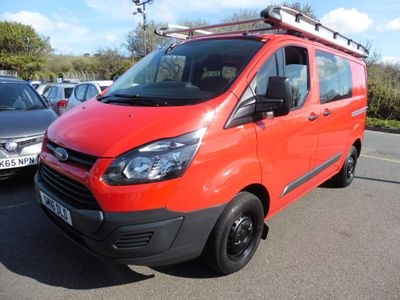 Ford Transit Custom Combi Van 2.2 TDCi 290 Double Cab-in-Van L1 H1 5dr