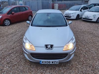 Peugeot 407 Saloon 2.7 HDi V6 Sport 4dr