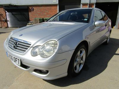 Mercedes-Benz C Class Unlisted C 200 2.0 CDi SPORT COUPE