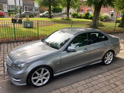 Mercedes-Benz C Class Saloon 2.1 C250 CDI BlueEFFICIENCY Sport 7G-Tronic 4dr (COMAND)