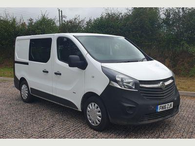 Vauxhall Vivaro Combi Van 1.6 CDTi 2900 Crew Van L1 H1 EU5 5dr (6 Seat)