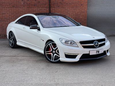 Mercedes-Benz CL Coupe 5.5 CL63 AMG MCT 7S (s/s) 2dr