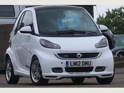 Smart fortwo Coupe 1.0 Brabus Xclusive SoftTouch 2dr