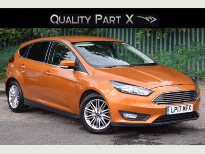 Ford Focus Hatchback 1.5 TDCi Zetec Edition (s/s) 5dr