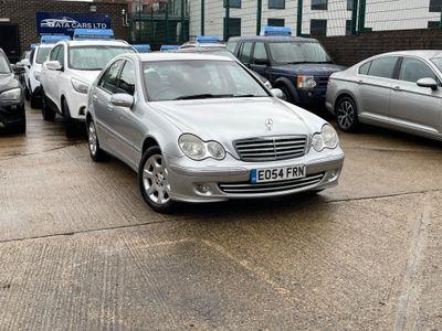 Mercedes-Benz C Class Saloon 1.8 C200 Kompressor Elegance SE 4dr
