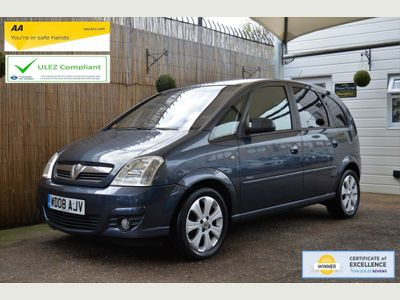 Vauxhall Meriva MPV 1.4 i 16v Breeze Plus 5dr