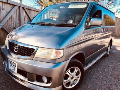 Mazda BONGO 2 BERTH FULL REAR CAMPER CONVERSION 61K Campervan 2003 AERO