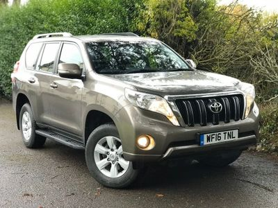 Toyota Land Cruiser SUV 2.8 D-4D Active 4x4 5dr (7 Seats)