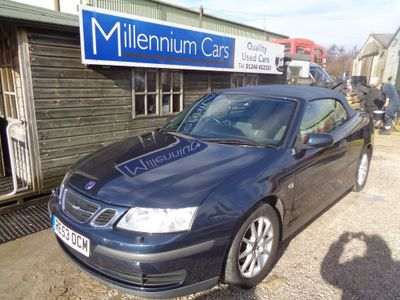 Saab 9-3 Convertible 2.0 T Linear 2dr