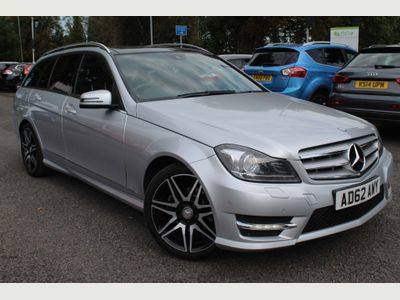 Mercedes-Benz C Class Estate 2.1 C250 CDI AMG Sport Plus 7G-Tronic Plus 5dr (COMAND)