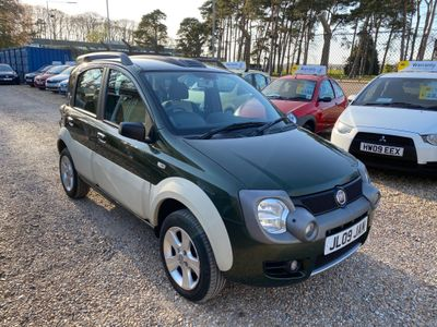 Fiat Panda Hatchback 1.3 MultiJet 16v Cross 4x4 5dr