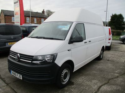 Volkswagen Transporter Panel Van 2.0 TDI T32 BlueMotion Tech Startline FWD LWB High Roof EU5 (s/s) 5dr