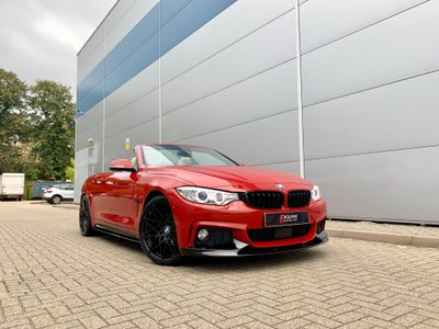 BMW 4 Series Convertible 2.0 420i M Sport 2dr