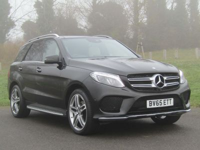 Mercedes-Benz GLE Class SUV 3.0 GLE350d V6 designo Line G-Tronic 4MATIC (s/s) 5dr