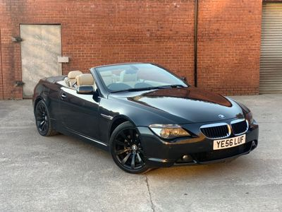 BMW 6 SERIES Convertible 3.0 630i Sport 2dr