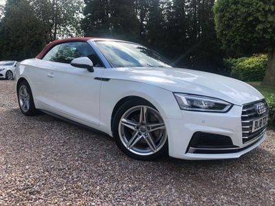 Audi A5 Cabriolet Convertible 2.0 TFSI S line Cabriolet (s/s) 2dr