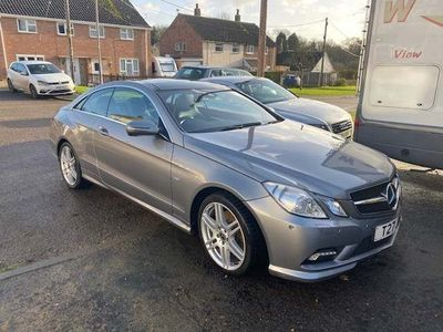 Mercedes-Benz E Class Coupe 3.5 E350 CGI BlueEFFICIENCY Sport G-Tronic 2dr