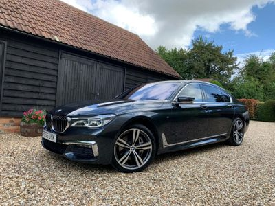 BMW 7 Series Saloon 3.0 740Ld M Sport Auto xDrive (s/s) 4dr