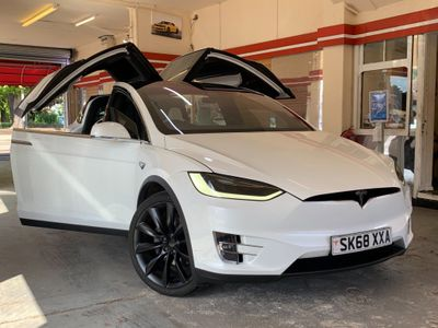 Tesla Model X SUV 100D Dual Motor Auto 4WDE 5dr