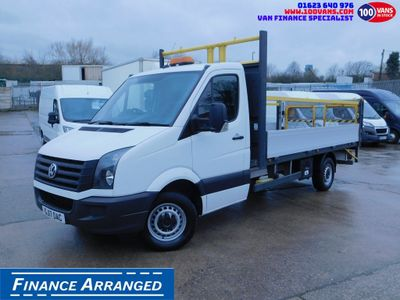 Volkswagen Crafter Dropside 2.0TDI LWB DROPSIDE & TAIL LIFT EURO6
