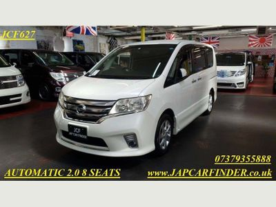 Nissan Serena MPV Automatic, Highway star Cruise 8 seat