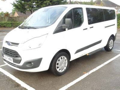 FORD TOURNEO CUSTOM Other 2.0 TDCi 310 L2 Zetec Shuttle Bus 5dr (9 Seats)