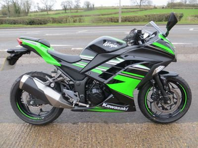 Kawasaki Ninja 300 Sports Tourer ABS (KRT Ed)