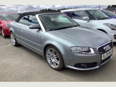 Audi A4 Cabriolet Convertible 2.0 TFSI S line Special Edition Cabriolet 2dr