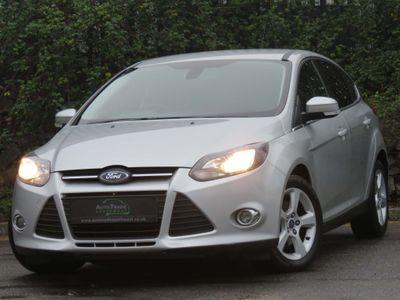 Ford Focus Hatchback 1.6 TDCi ECOnetic Zetec Navigator Navigator (s/s) 5dr