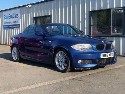 BMW 1 Series Convertible 2.0 120d M Sport 2dr