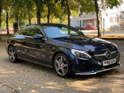 Mercedes-Benz C Class Coupe 2.0 C300 AMG Line 7G-Tronic+ (s/s) 2dr