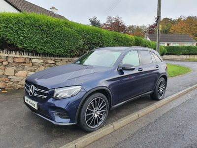 Mercedes-Benz GLC Class SUV 2.1 GLC220d AMG Line G-Tronic 4MATIC (s/s) 5dr