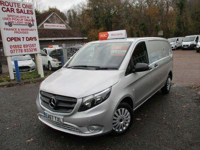 Mercedes-Benz Vito Panel Van 2.1 114 CDi BlueTEC RWD L1 EU6 (s/s) 5dr