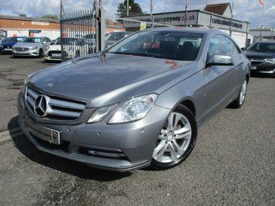 Mercedes-Benz E Class Coupe 2.1 E220 CDI BlueEFFICIENCY SE G-Tronic 2dr