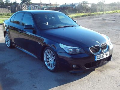 BMW 5 Series Saloon 2.5 525d M Sport 4dr