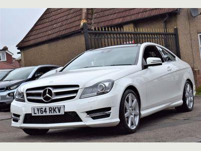 Mercedes-Benz C Class Coupe 1.6 C180 AMG Sport Edition (Premium Plus) 2dr